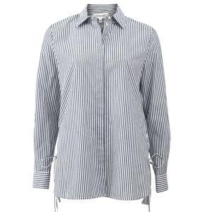 Derek Lam Button Down side lace shirt